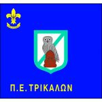 Greek boy scouts - area flag