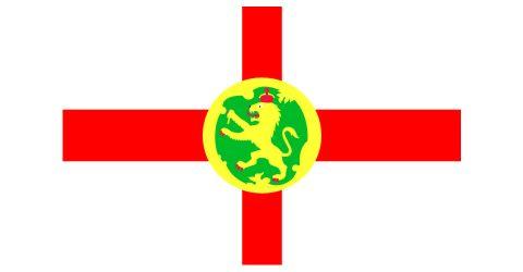 Flag of Alderney