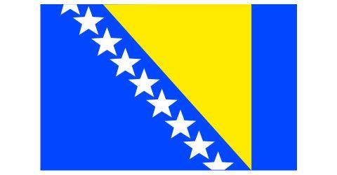 Σημαία Βοσνίας