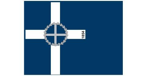 "Flag of the volunteer corps ""Daglis"" 1854"