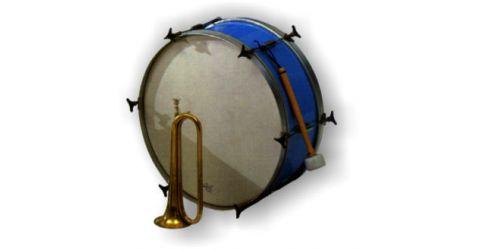 Bass drum (Grancassa)