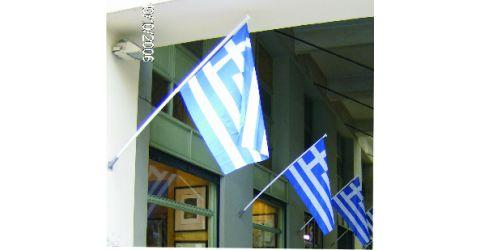 Plastic flagpoles