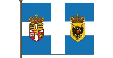 The flag of the Queen Mother