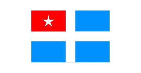 Autonomus state of Crete flag