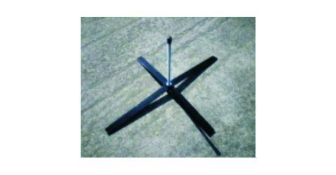 Cross base stand