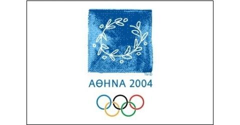 Flag of the Athens 2004 Olympic Games